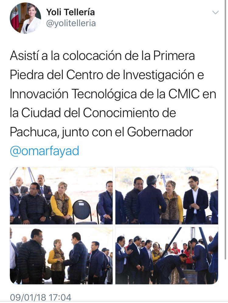 Le falla la brújula a Yoli Tellería, presidenta municipal de Pachuca